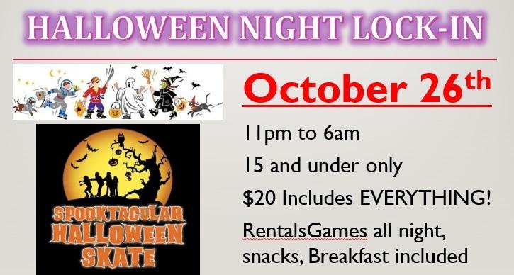 Halloween Night LockIn